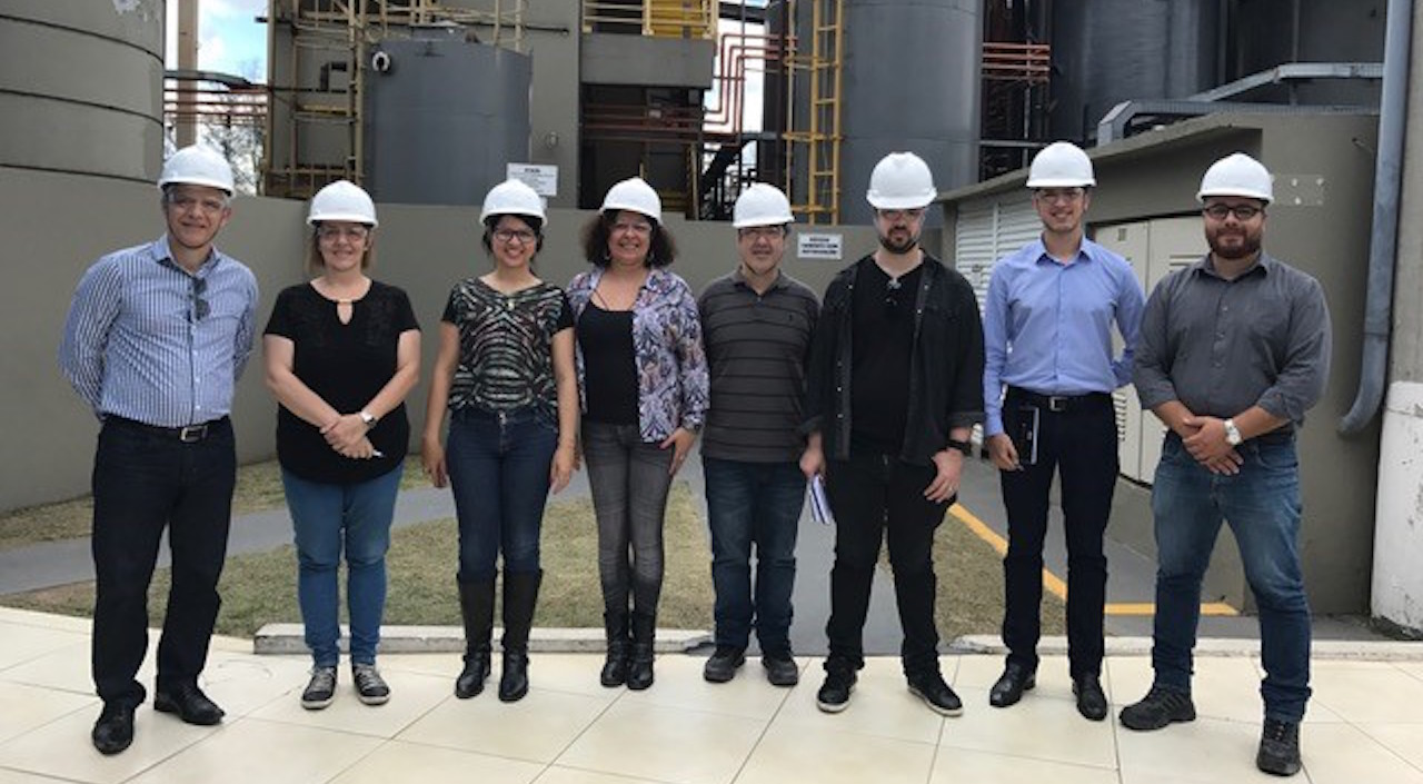 Jornalistas visitam Centro de Tratamento do Grupo Opersan